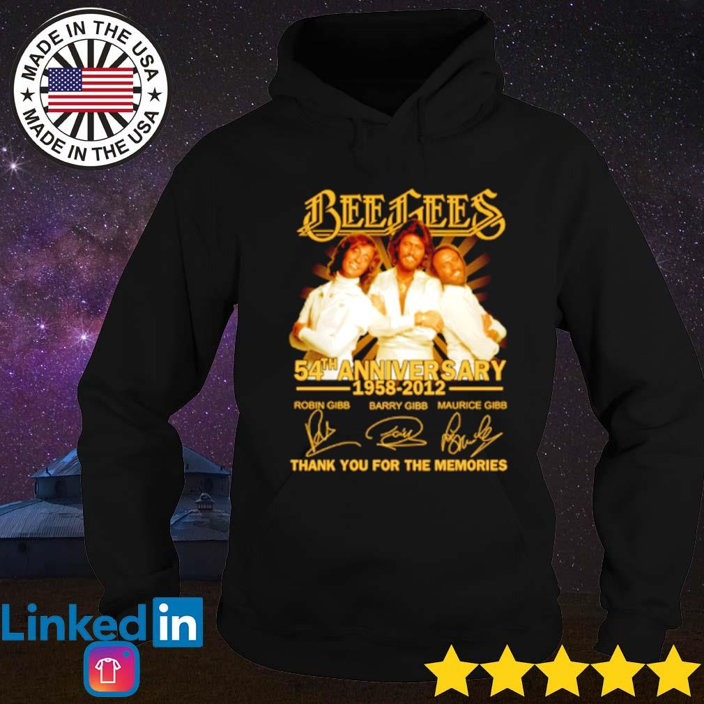 Bees Bees 54th Anniversary 1958-2012 thank you for the memories s Hoodie Black