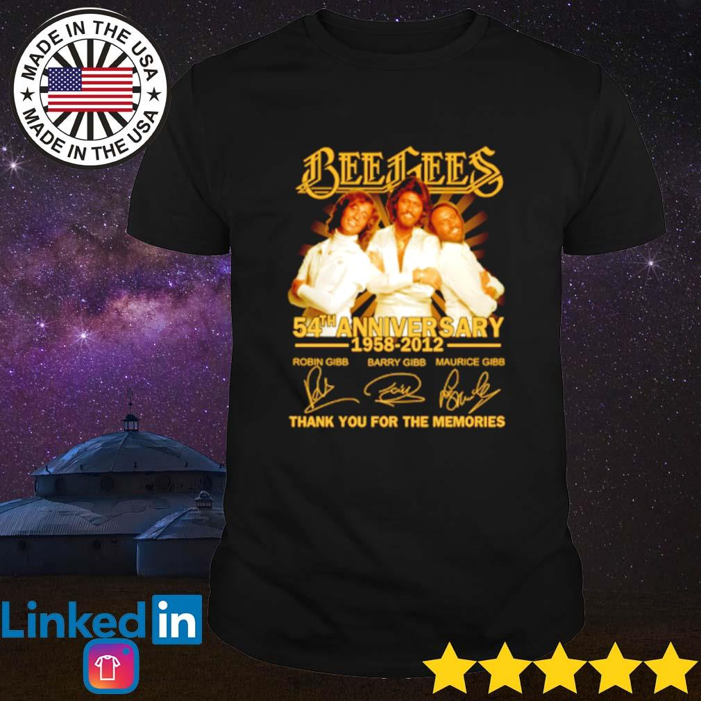 Bees Bees 54th Anniversary 1958-2012 thank you for the memories shirt