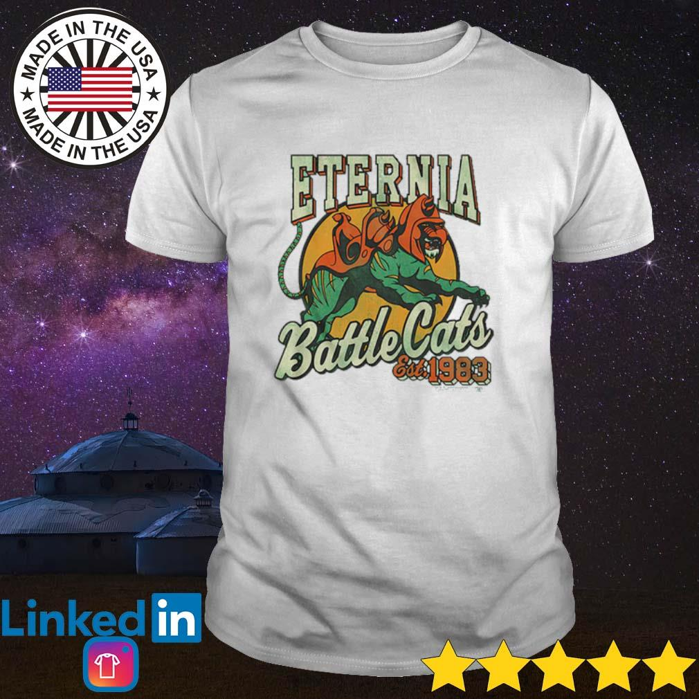 Eternia Battle Cats Masters of the Universe shirt