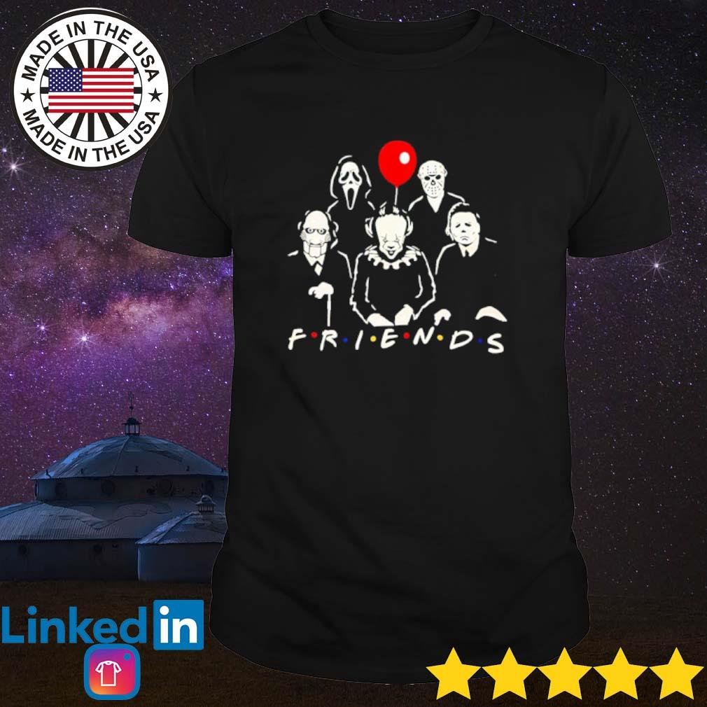 Horror characters movies Friends shirt