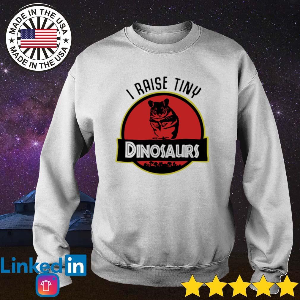 I raise tiny hamster Dinosaurs s Sweater White