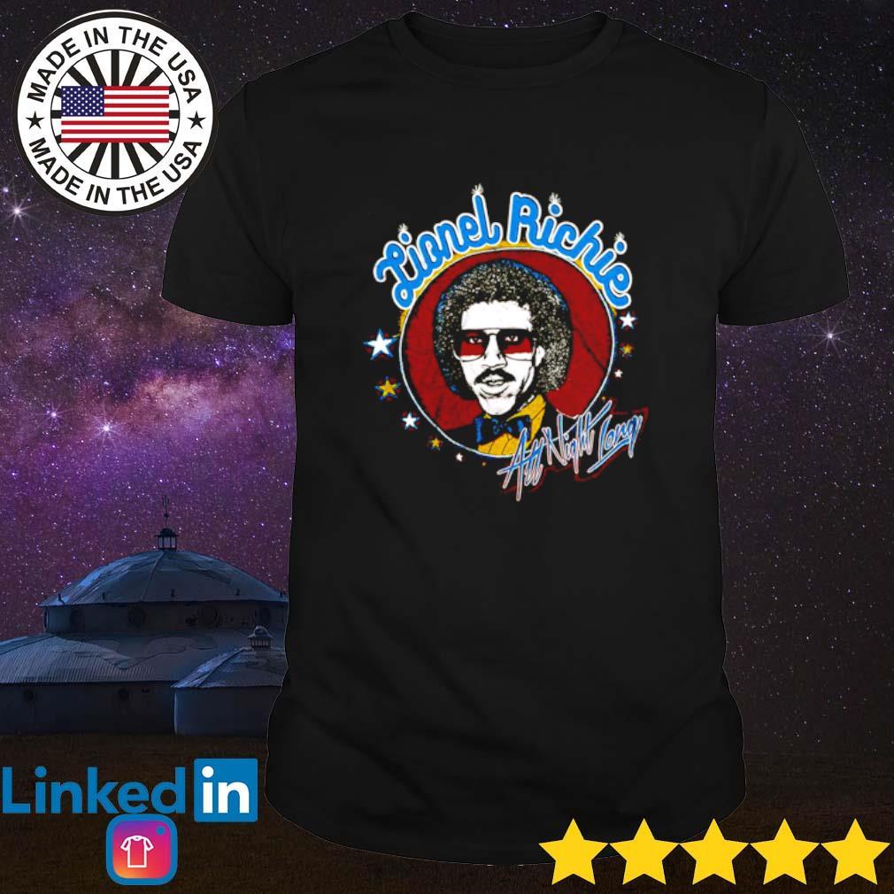 Lionel Richie All Night Long shirt