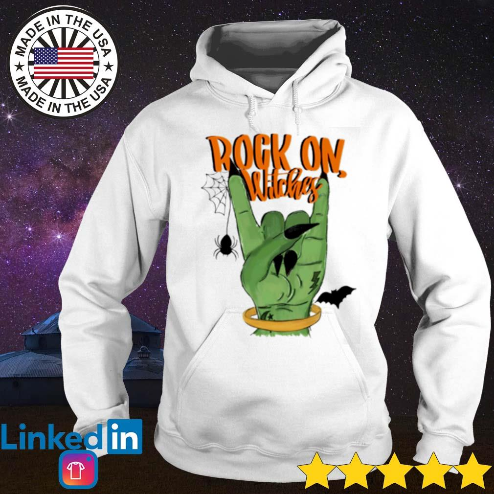 Rock on Witches s Hoodie White