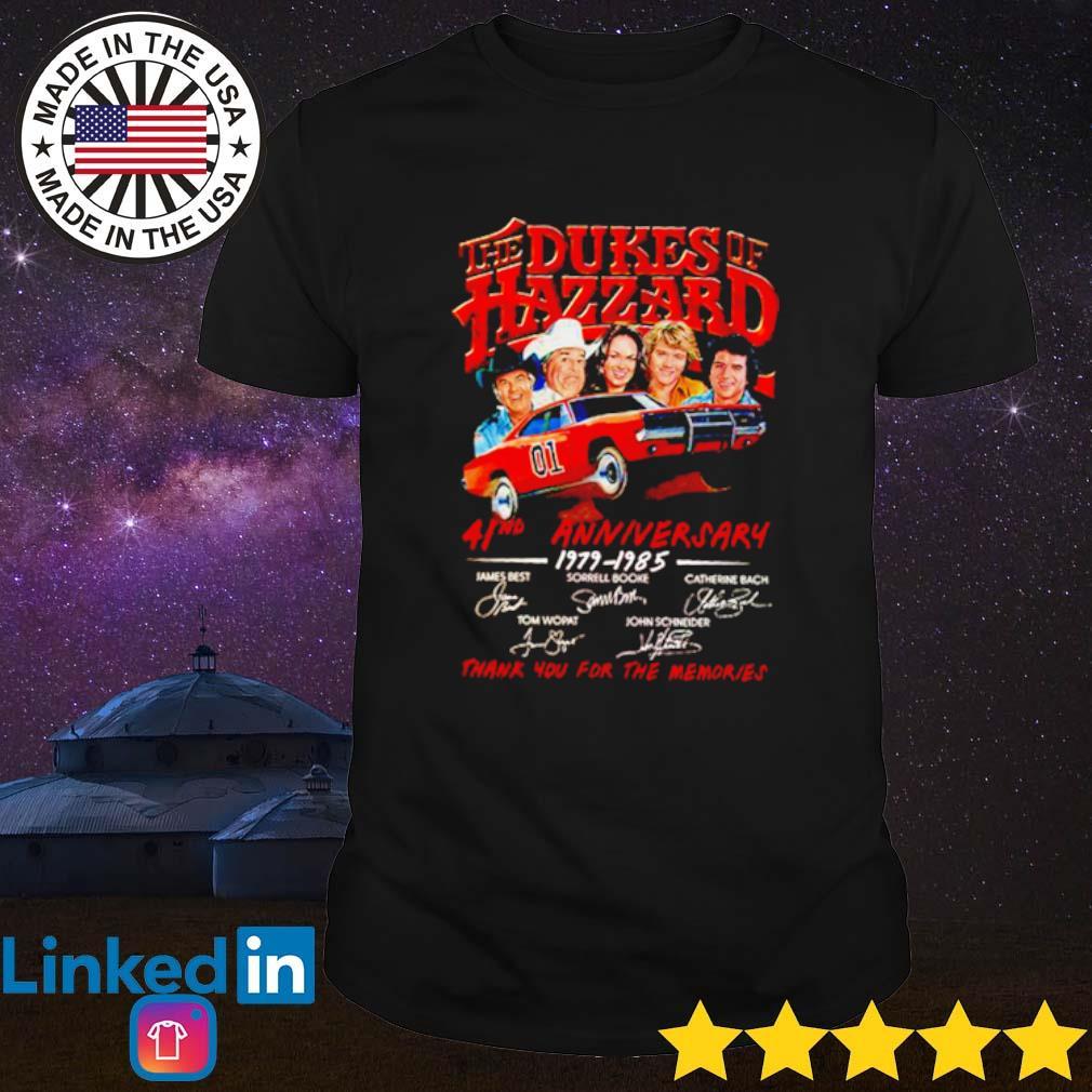 The Dukes of Hazzard 41nd Anniversary 1979-1985 signatures shirt