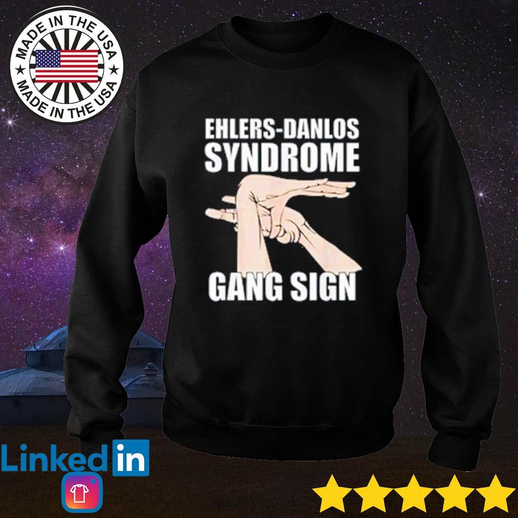 Ehlers-Danlos syndrome gang sign s Sweater Black