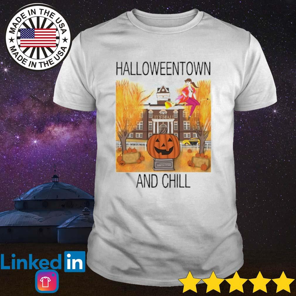 Halloweentown and chill shirt