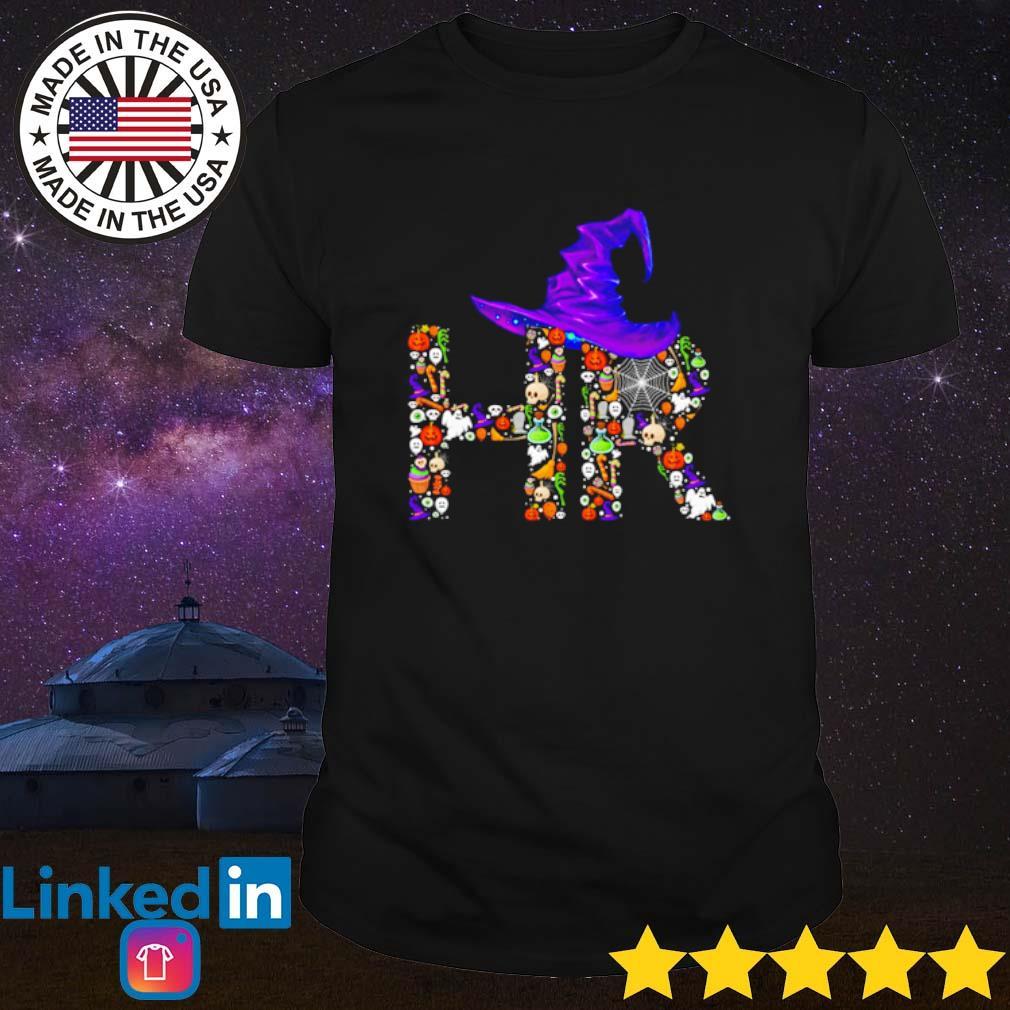 HR Witch hat Halloween shirt