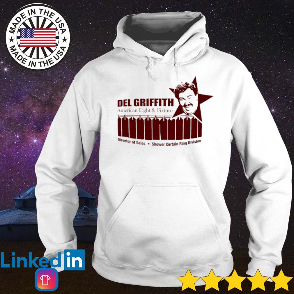 John Candy Del Griffith American light and fixture director of sales shower curtain ring division s Hoodie White