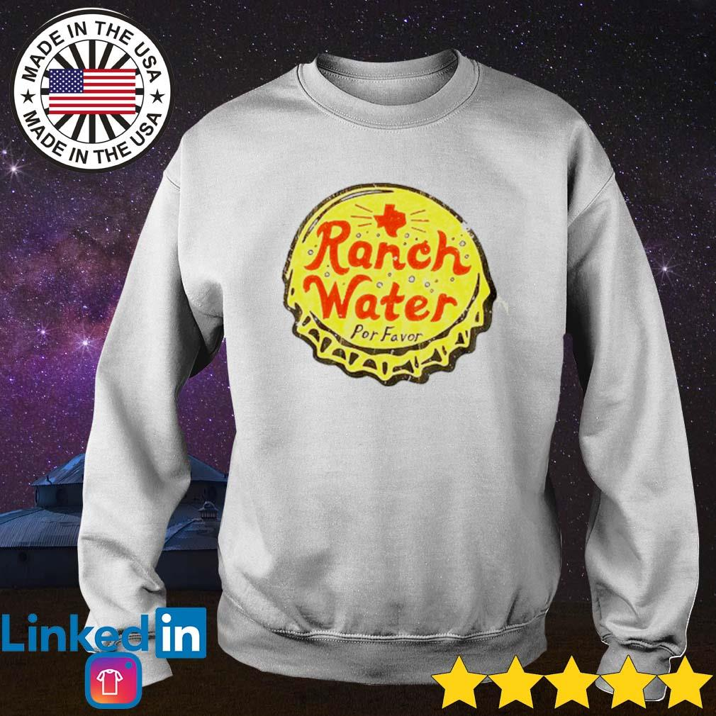 Ranch water por favor s Sweater White