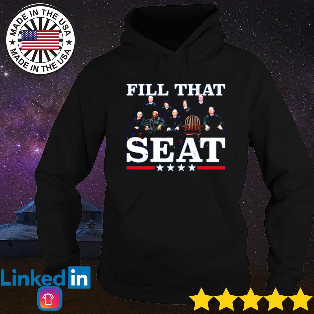Ruth Bader Ginsburg fill that seat s Hoodie Black