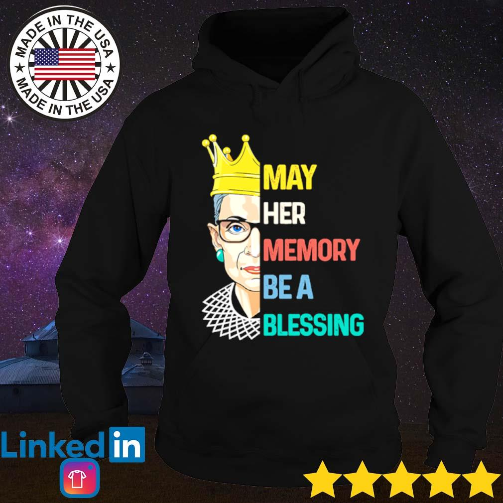 Ruth Bader Ginsburg May her memory be a blessing s Hoodie Black
