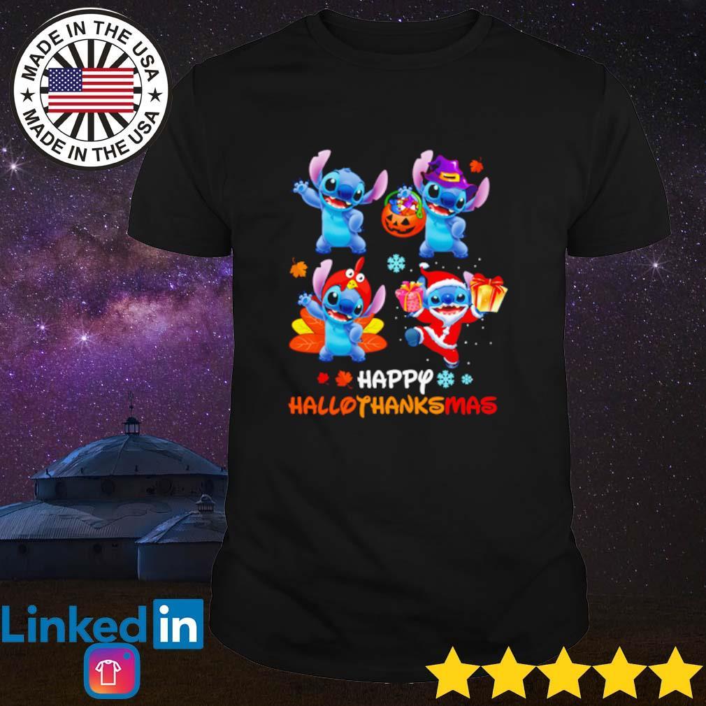 Stitch Happy Hallothanksmas shirt