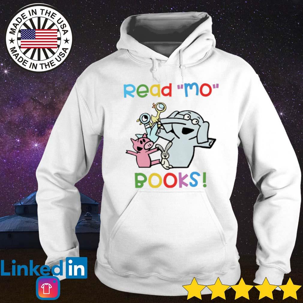 Teacher Pig Pigeon and elephant read Mo books s Hoodie White