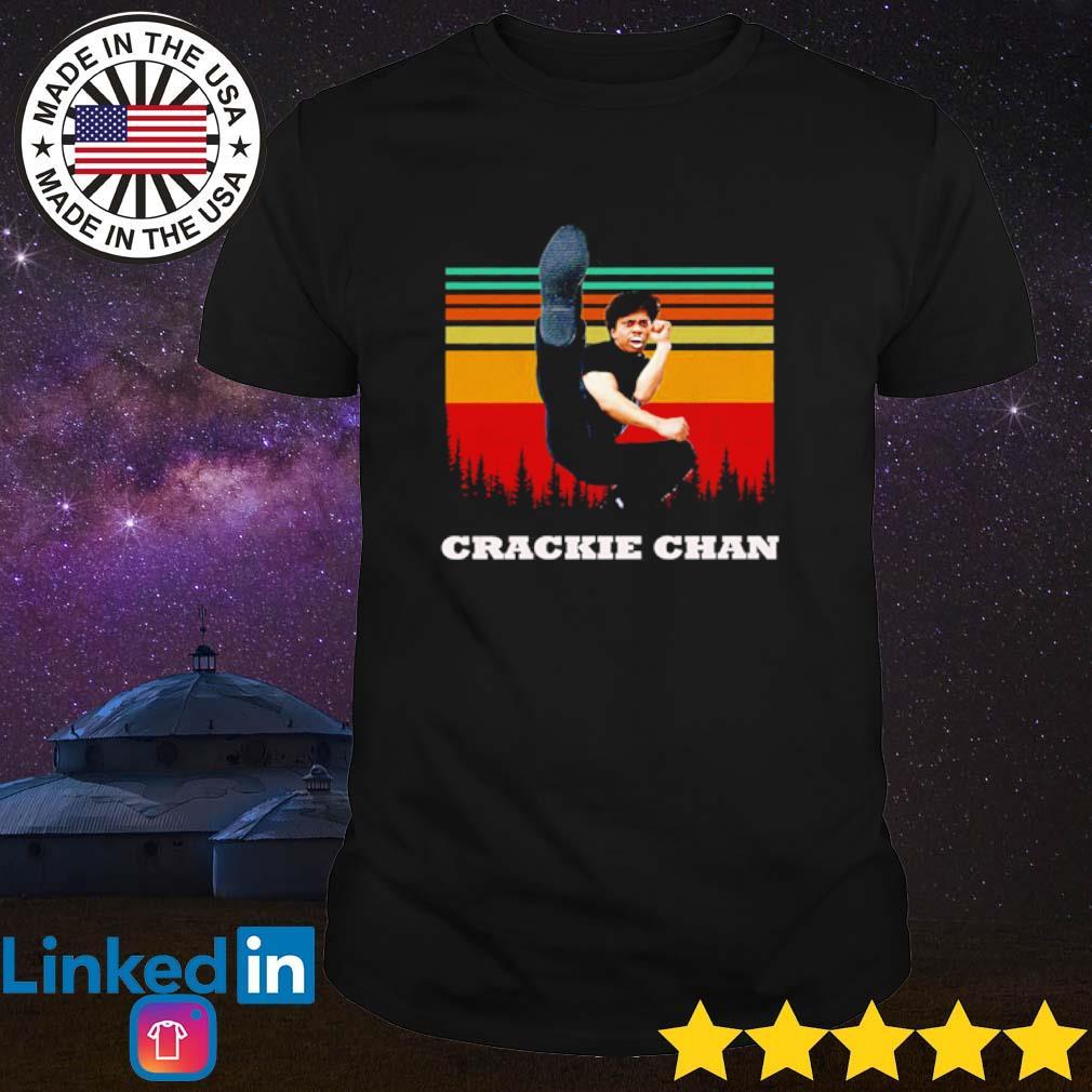Vintage Kung Fu Crackie Chan shirt