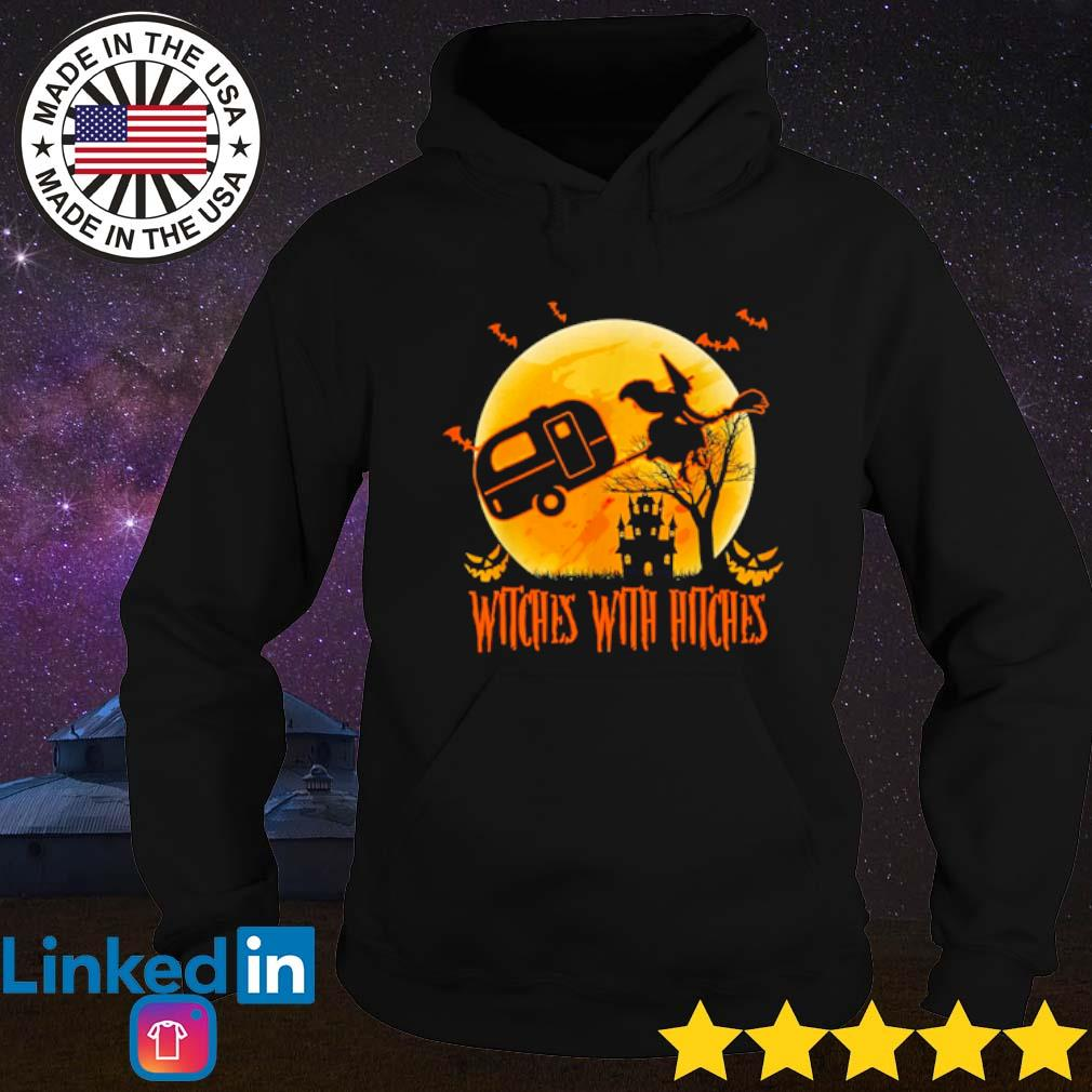Witches with hitches Halloween camping s Hoodie Black