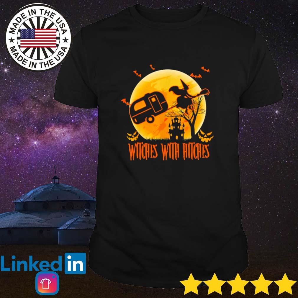 Witches with hitches Halloween camping shirt