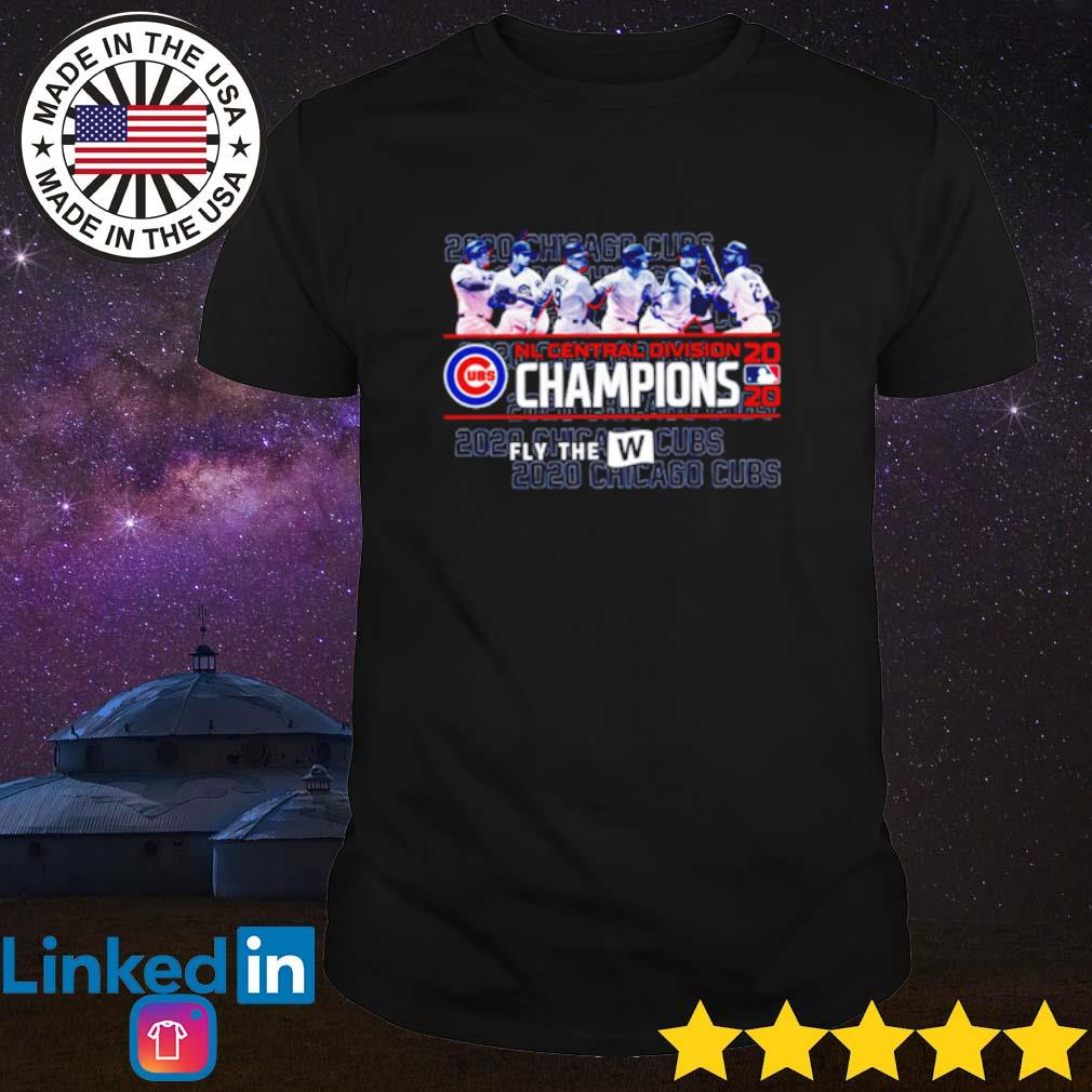 2020 Chicago Cubs NL Central division Champions shirt