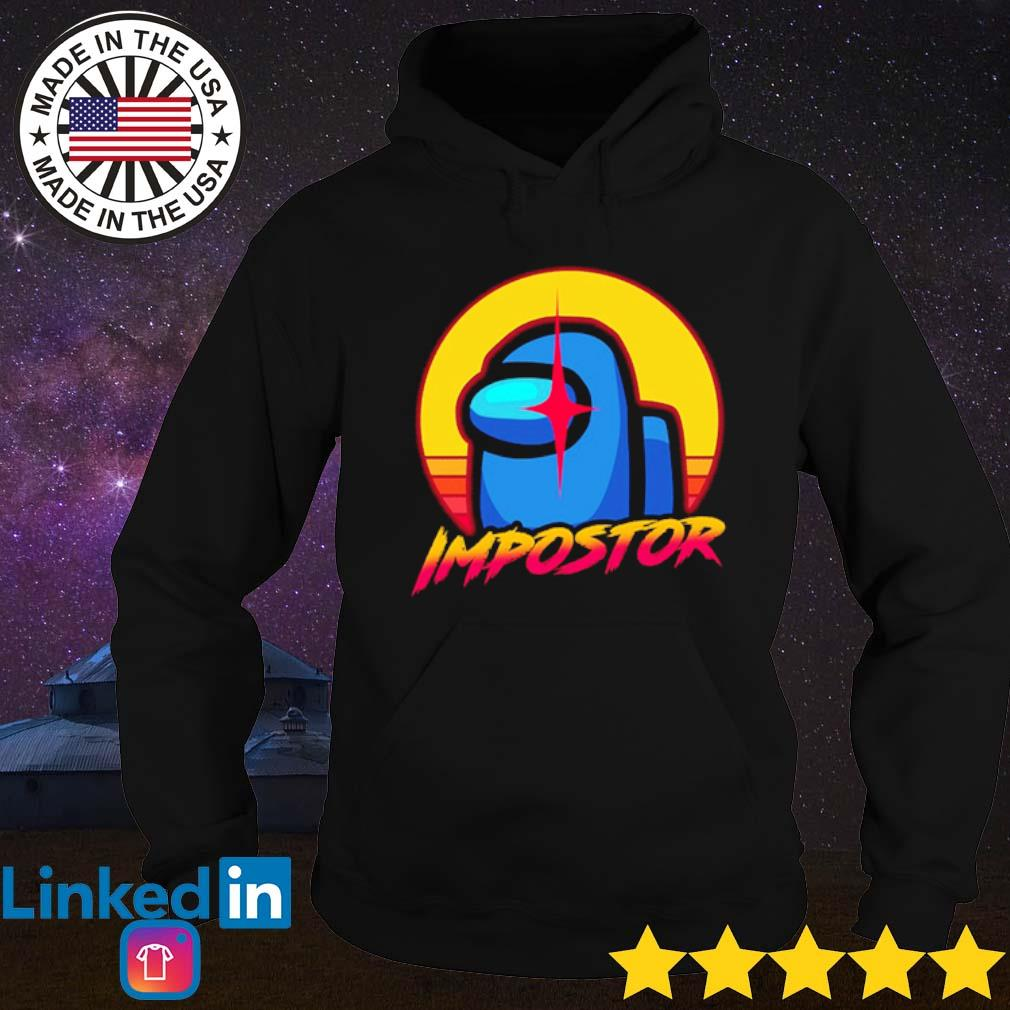 Among us imposter s Hoodie Black
