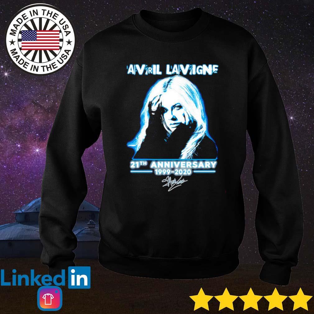 Avril Lavigne 21th Anniversary 1999-2020 signature s Sweater