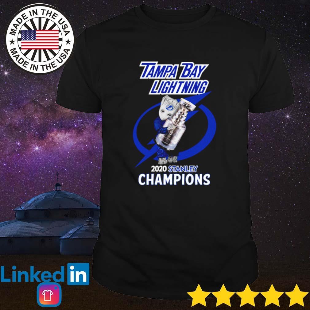 Baby Groot Tampa Bay Lightning 2020 stanley champions shirt
