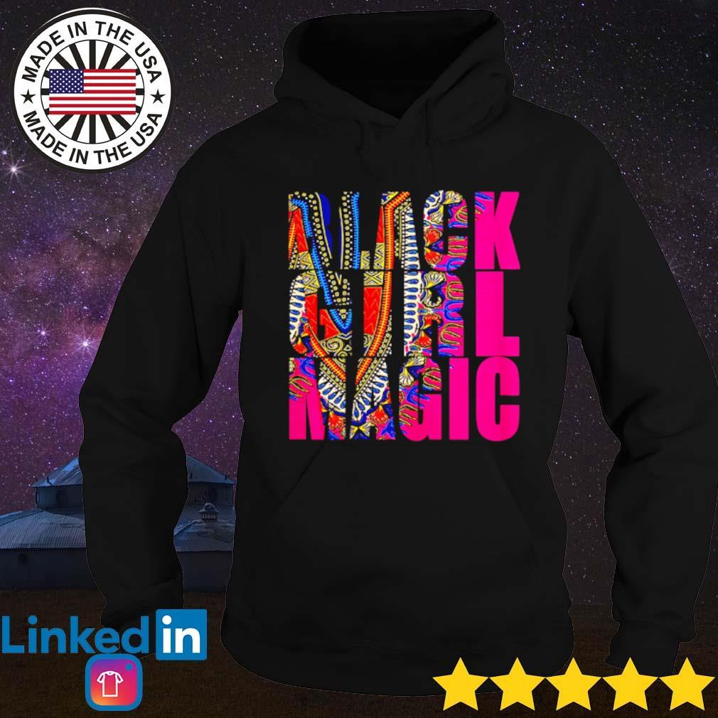 Black girl magic color s Hoodie Black