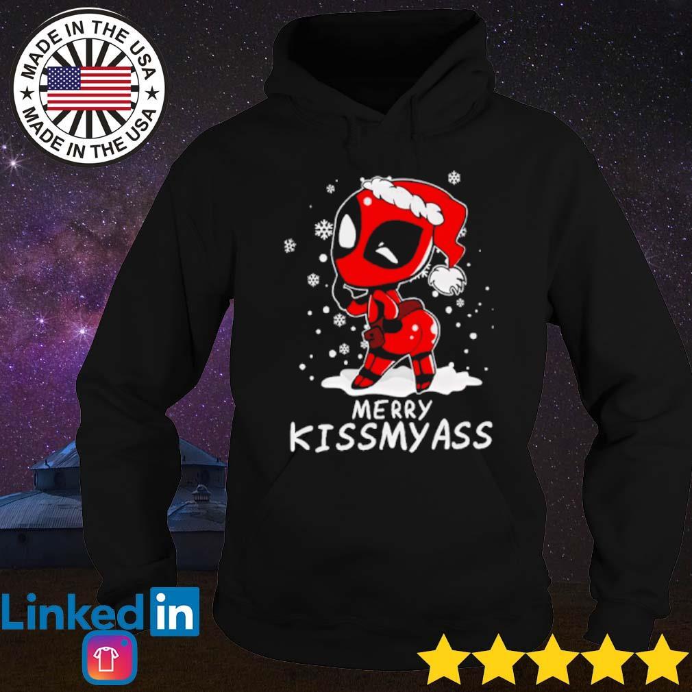 Deadpool merry kissmyass Christmas sweater Hoodie