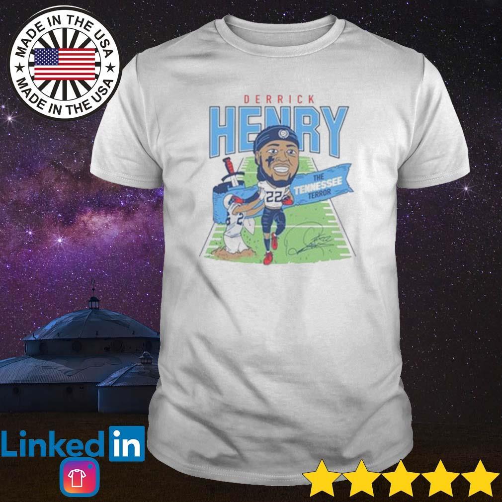 Derrick Henry the Tennessee terror shirt