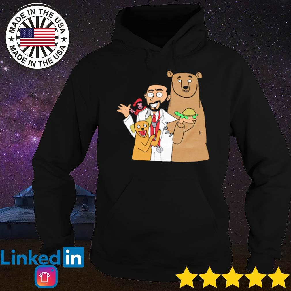 Doctor with bear dog and monkey Brother nature merch s Hoodie