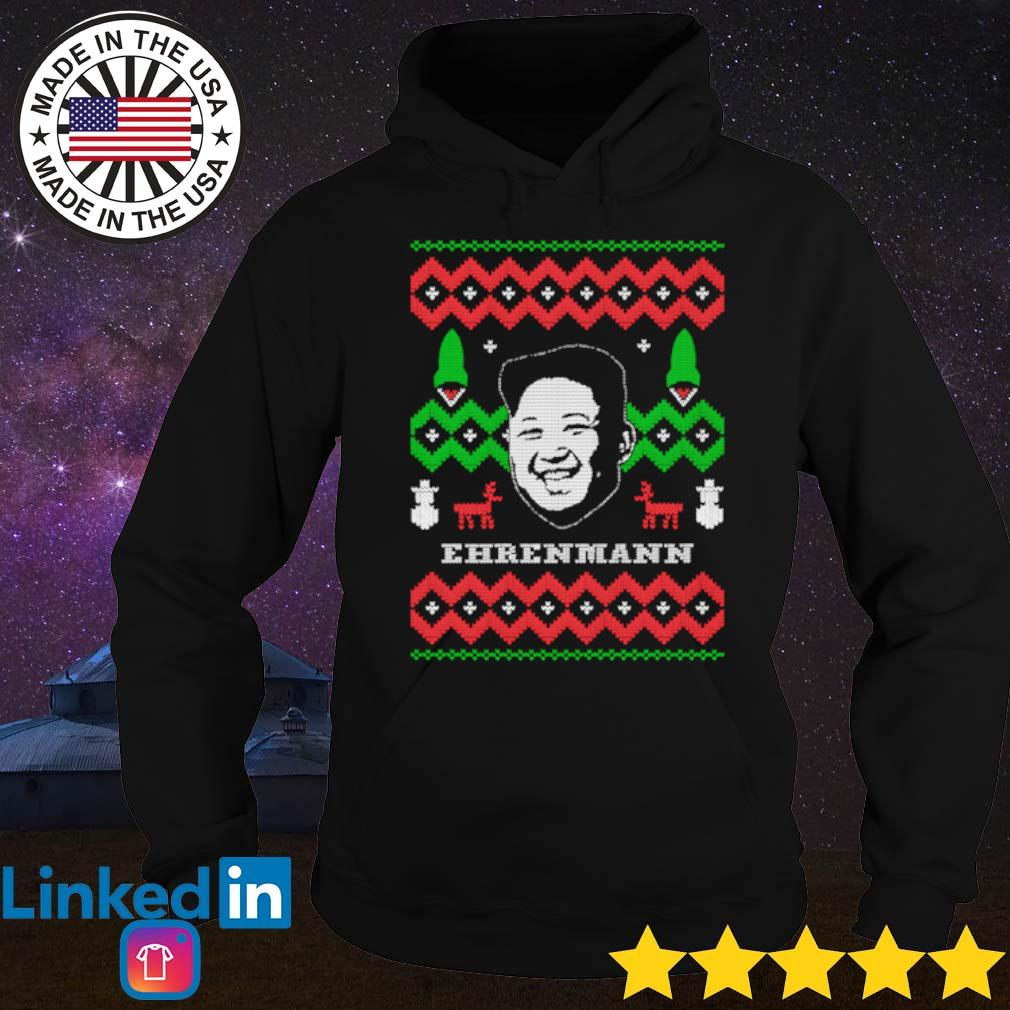 Ehrenmann ugly Christmas sweater Hoodie