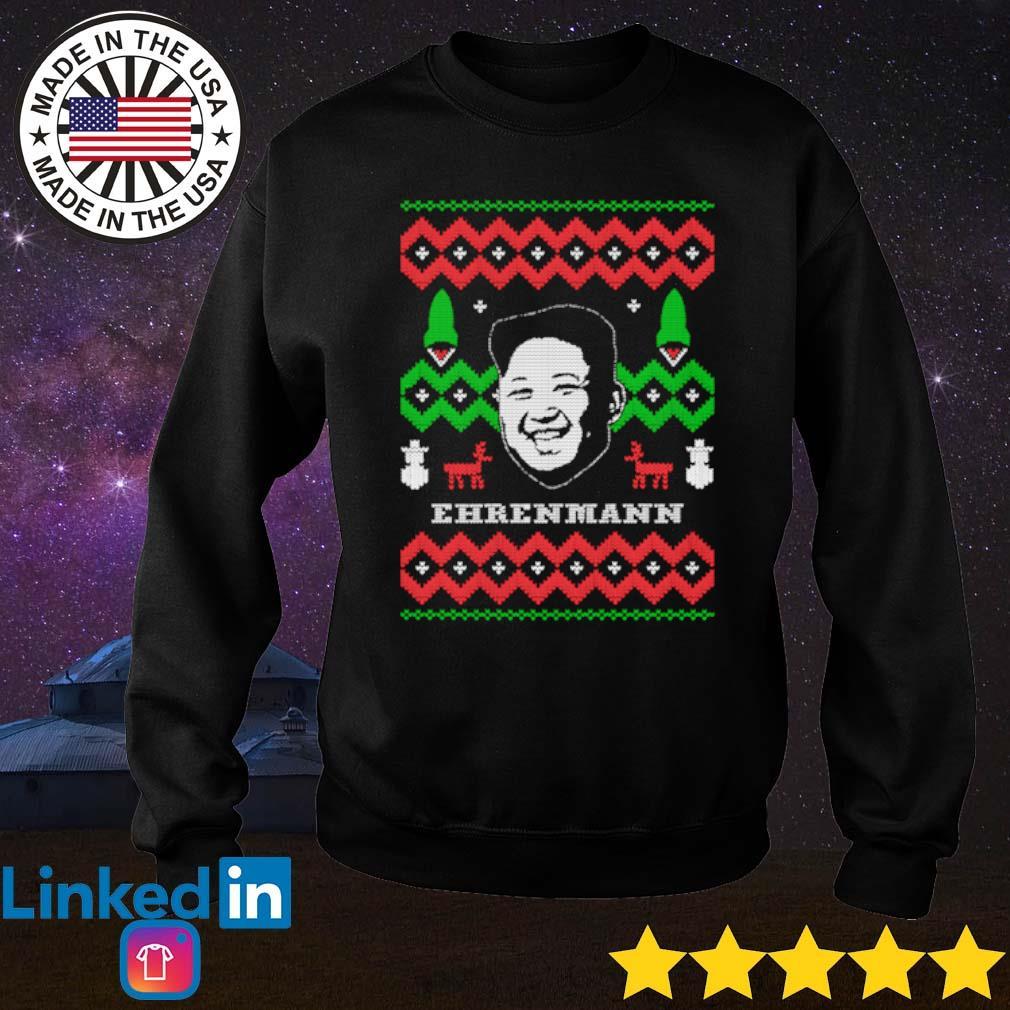 Ehrenmann ugly Christmas sweater