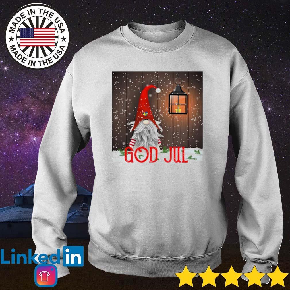 Gnomes God Jul Christmas sweater