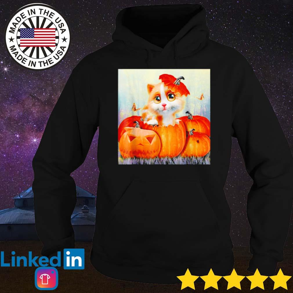 Halloween cat pumpkin s Hoodie