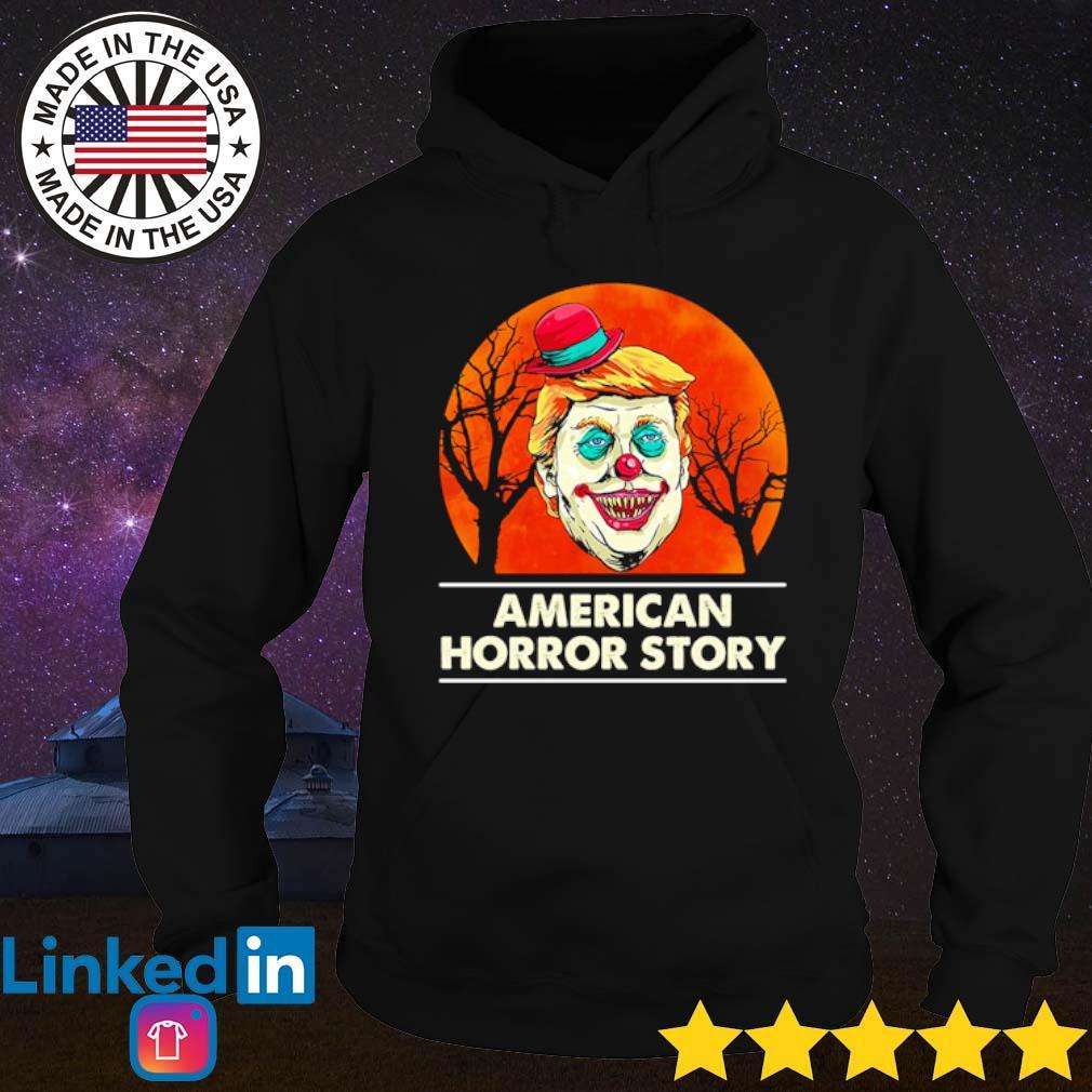 Halloween Donald Trump clown American horror story blood moon s Hoodie Black