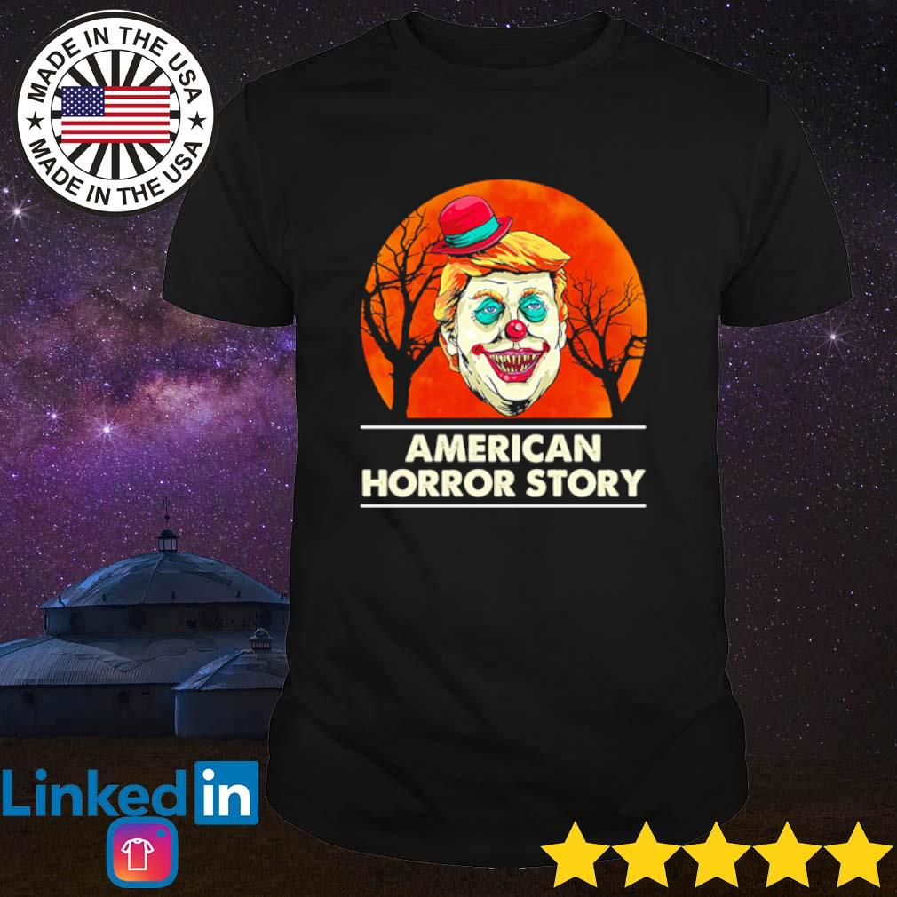 Halloween Donald Trump clown American horror story blood moon shirt