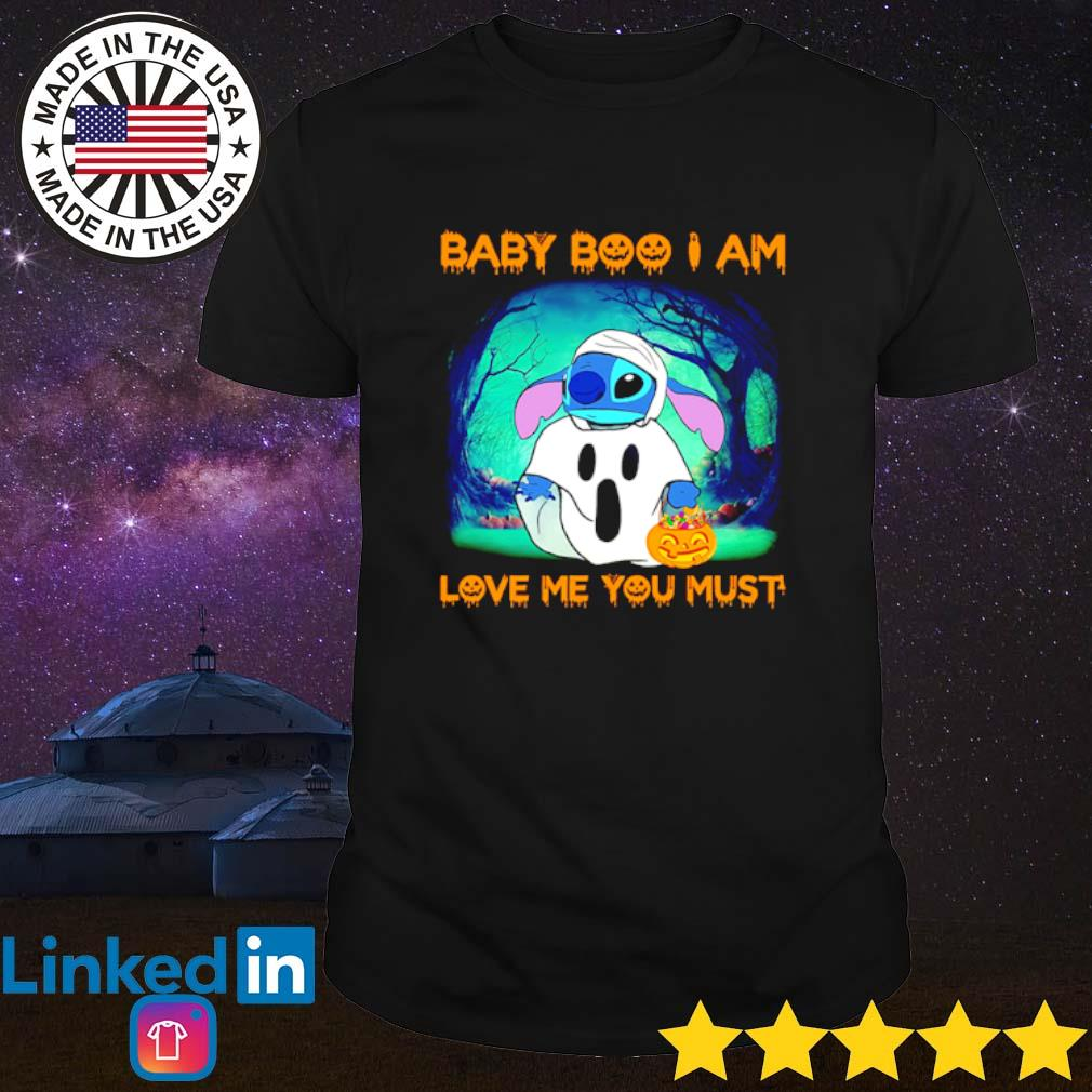 Halloween Stitch Baby Boo I am love me you must shirt
