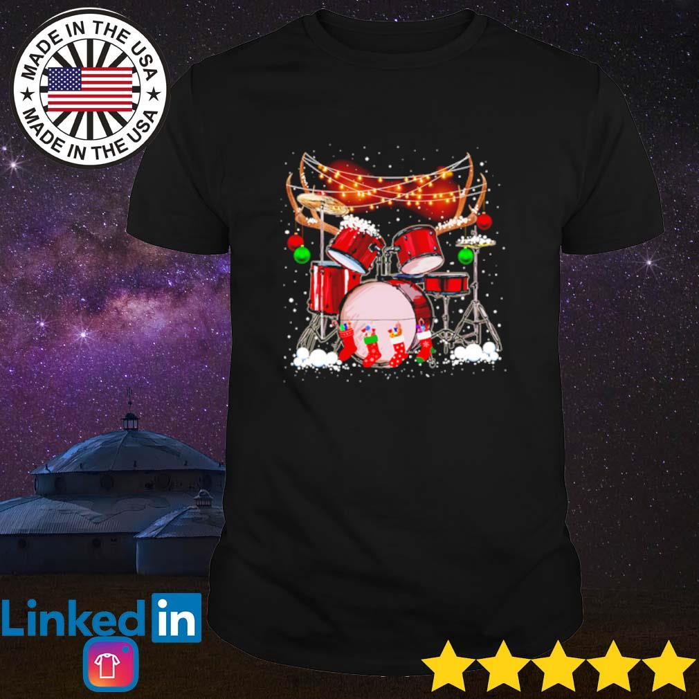 It's Christmas time for drummers shirt