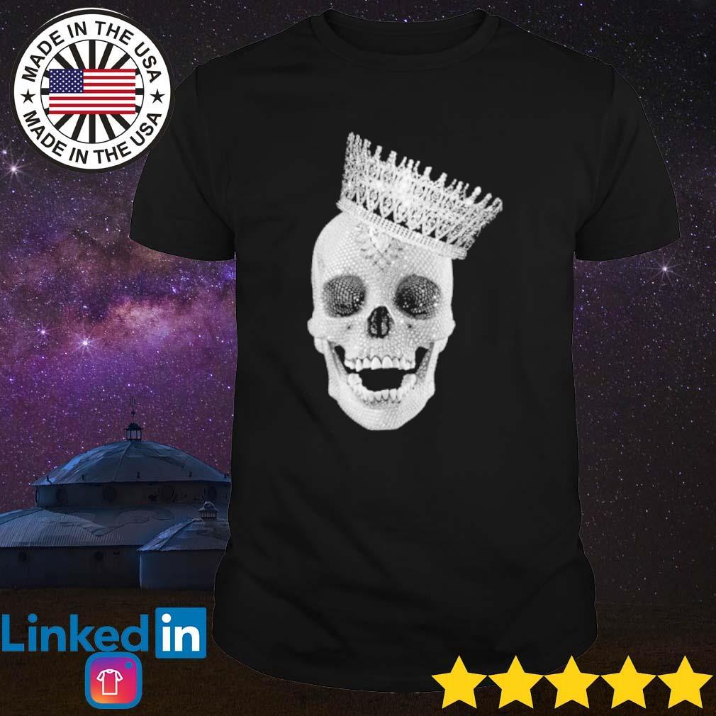 King Skull diamond shirt