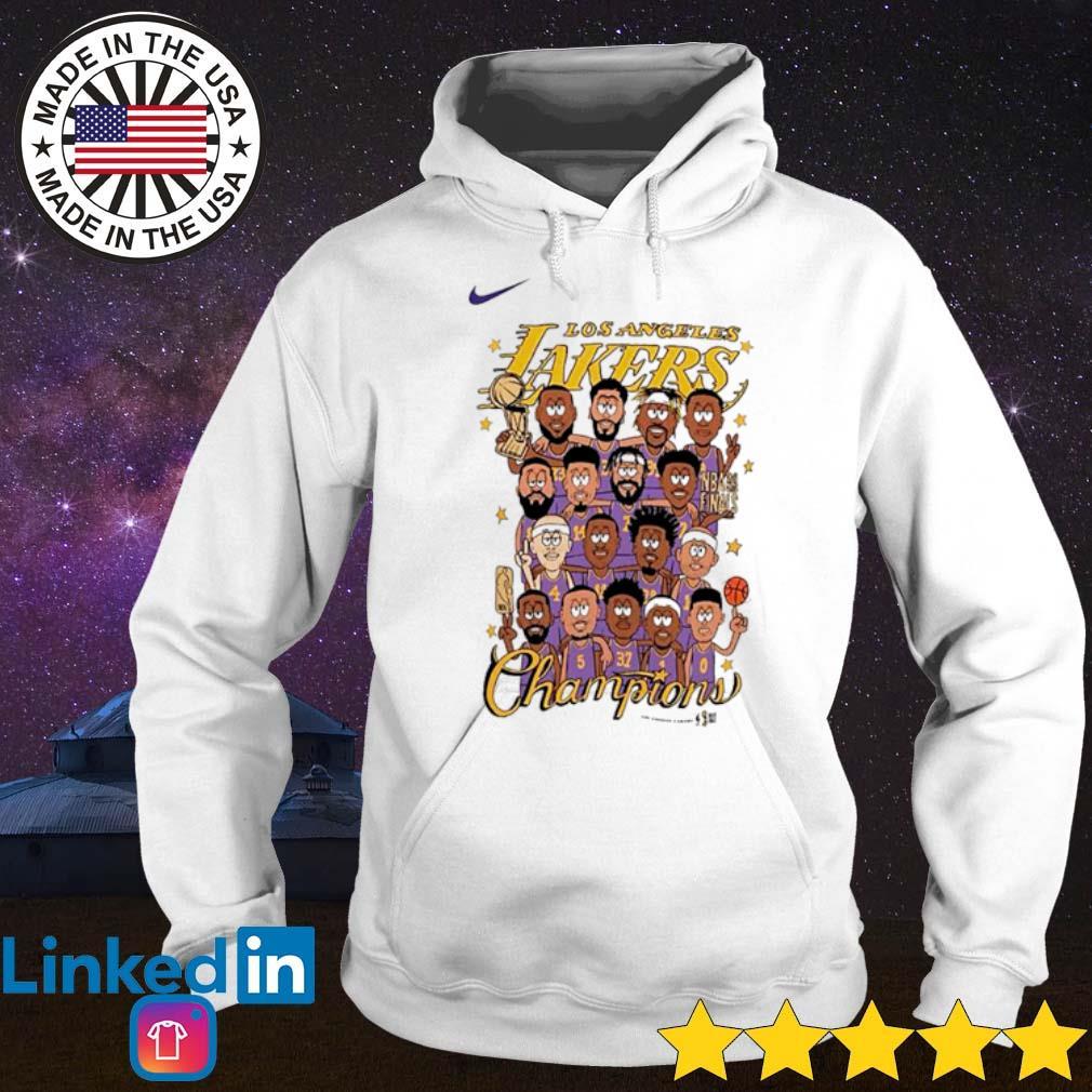 Los Angeles Lakers Champions cartoon s Hoodie