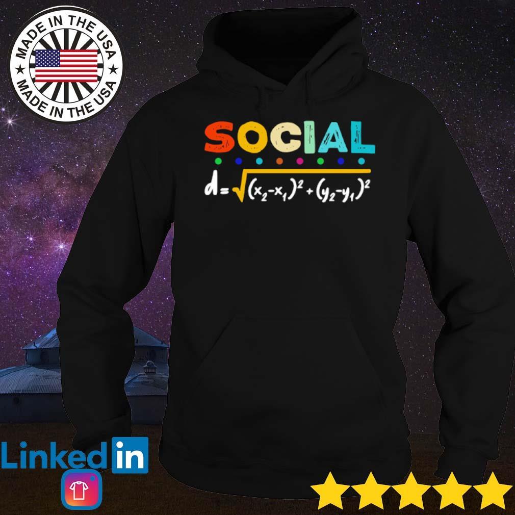 Mathematics social distancing s Hoodie