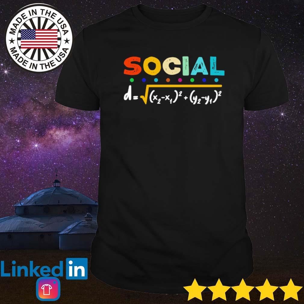 Mathematics social distancing shirt
