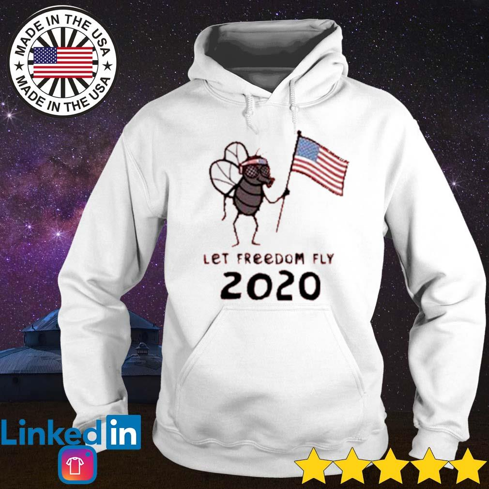 Mosquito hold American flag let freedom fly 2020 s Hoodie