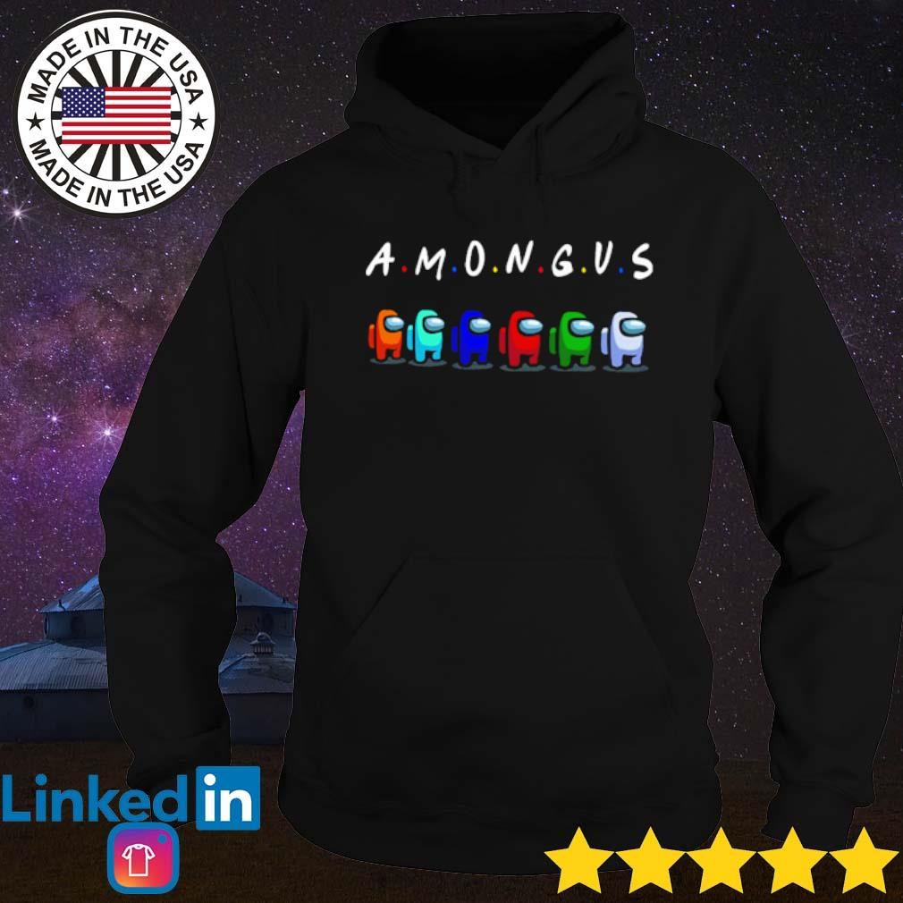 Online game among us with friend s Hoodie Black