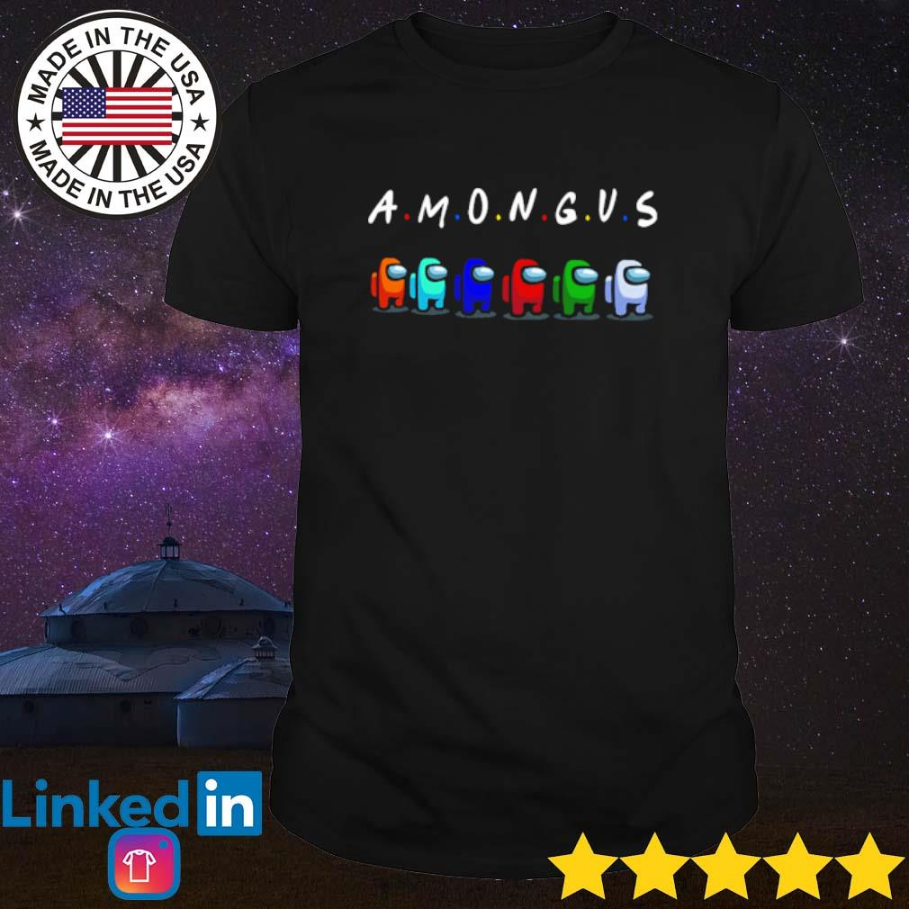 Online game among us with friend shirt