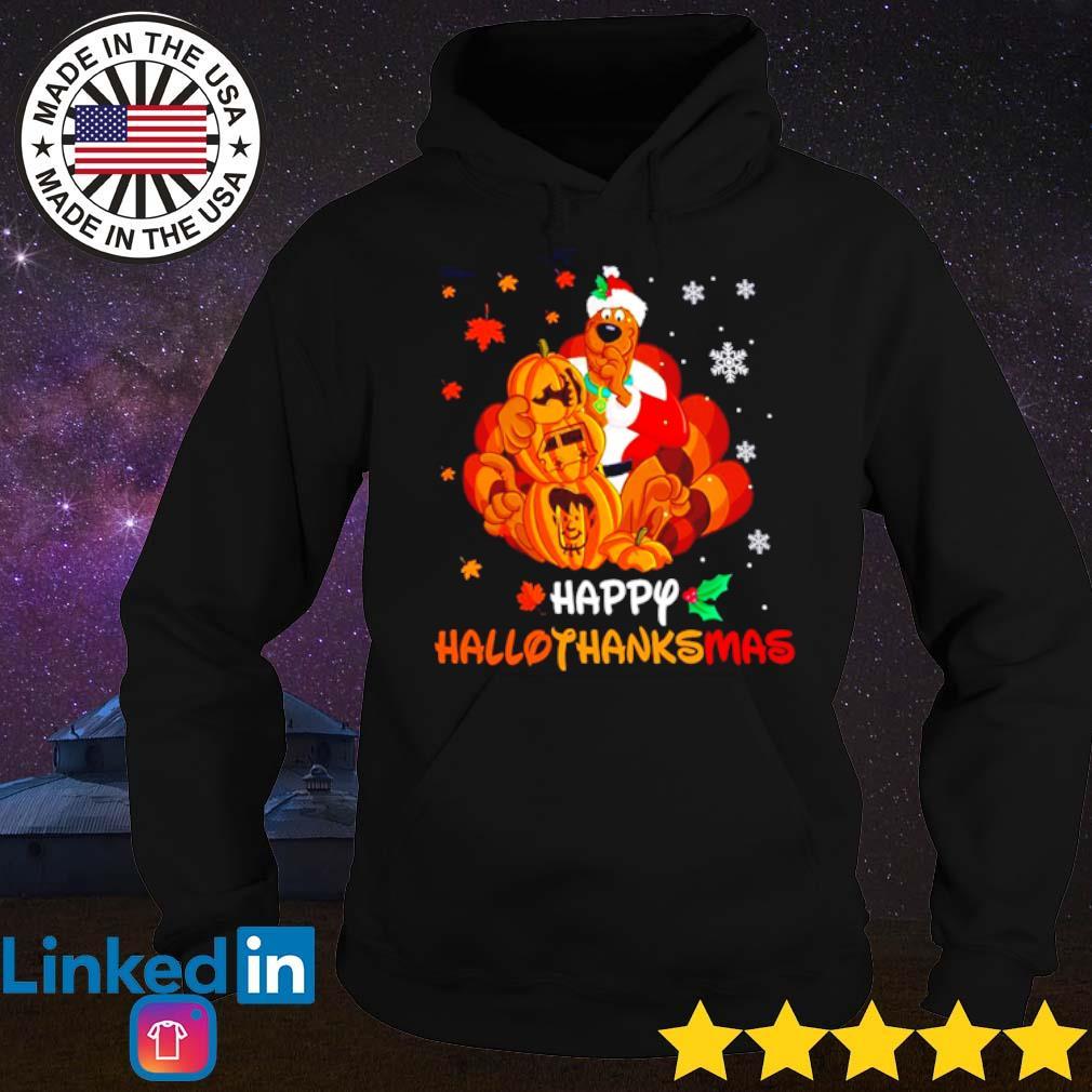 Scooby-Doo happy hallothanksmas Christmas sweater Hoodie