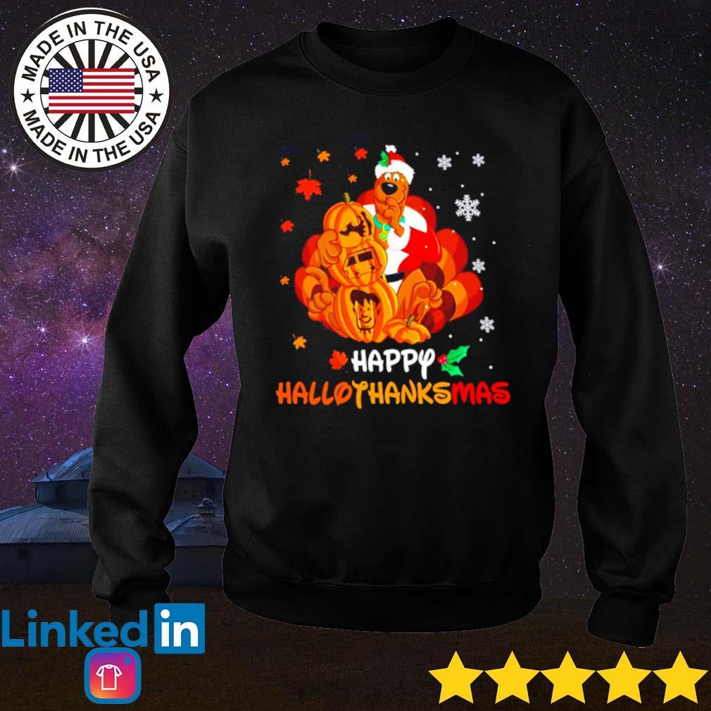 Scooby-Doo happy hallothanksmas Christmas sweater