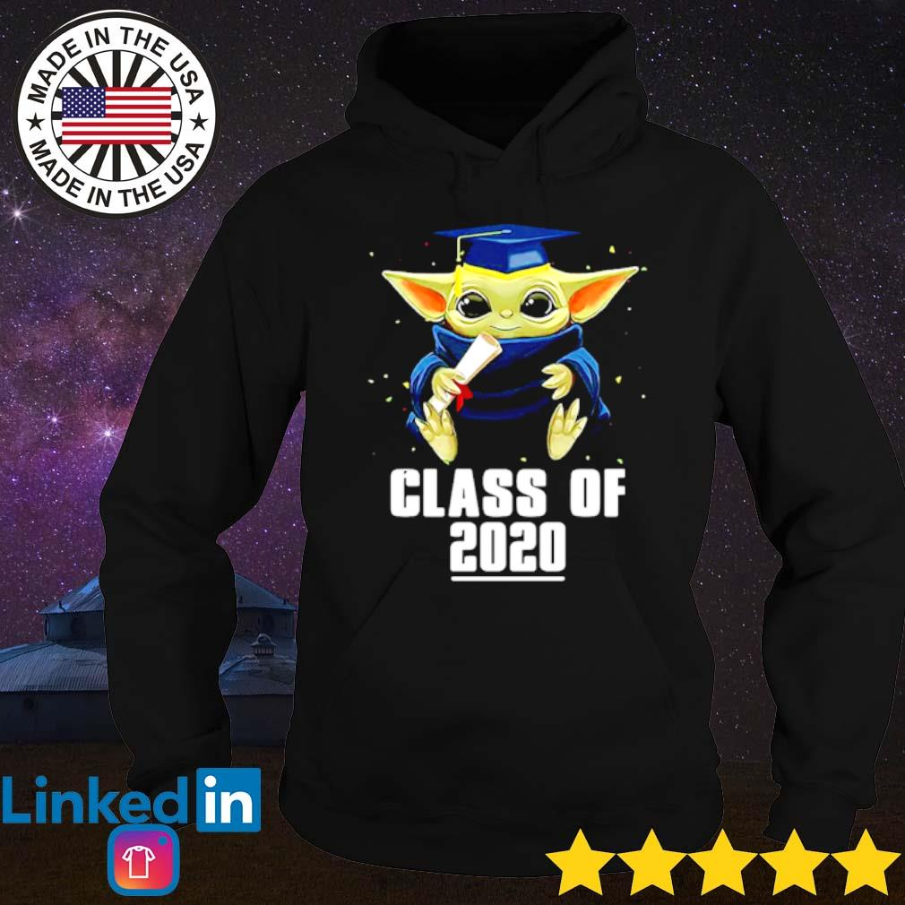Star Wars Baby Yoda class of 2020 senior graduation s Hoodie