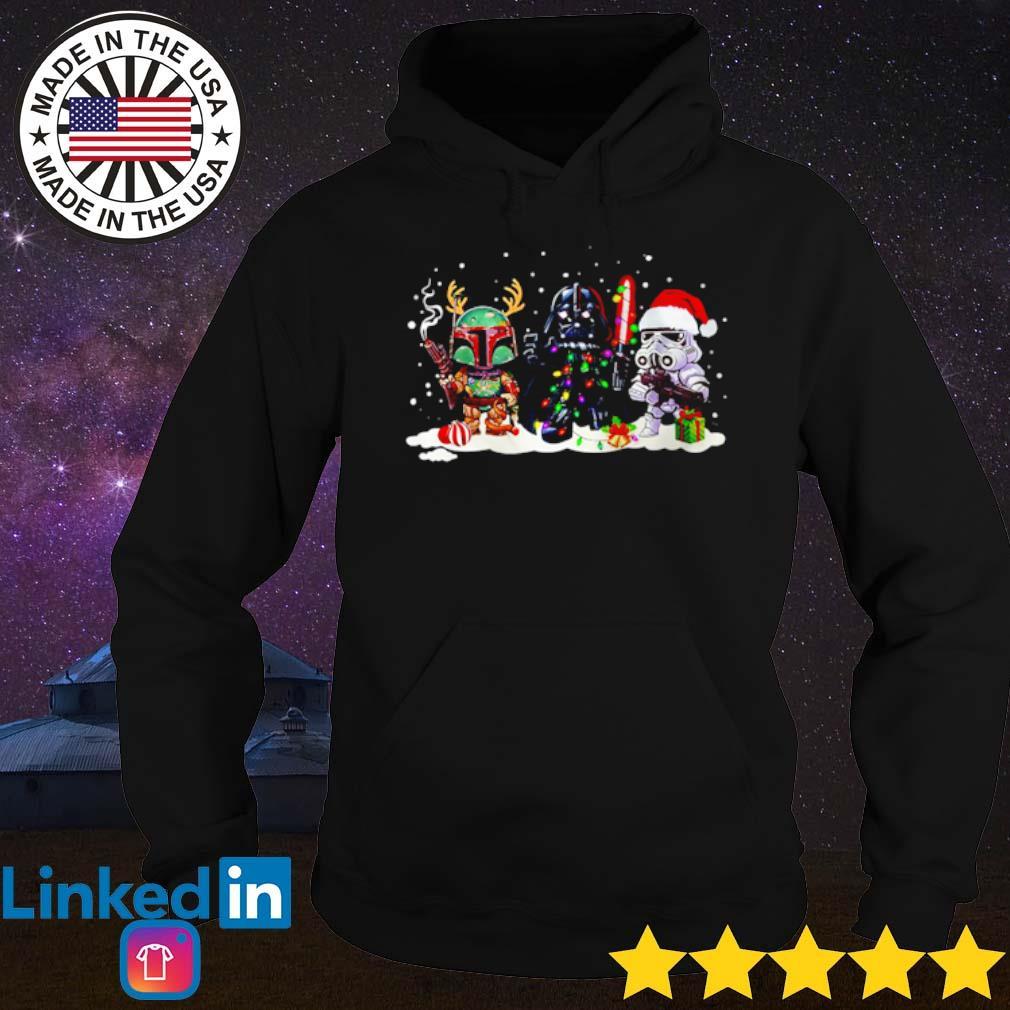 Star Wars Boba Fett Darth Vader Stormtrooper Christmas sweater Hoodie