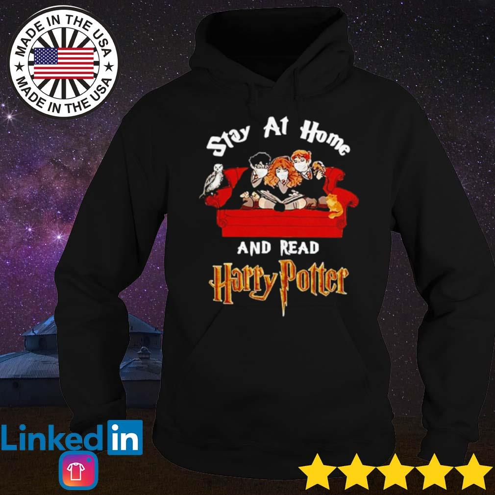 Stay at home and read Harry Potter Coronavirus s Hoodie