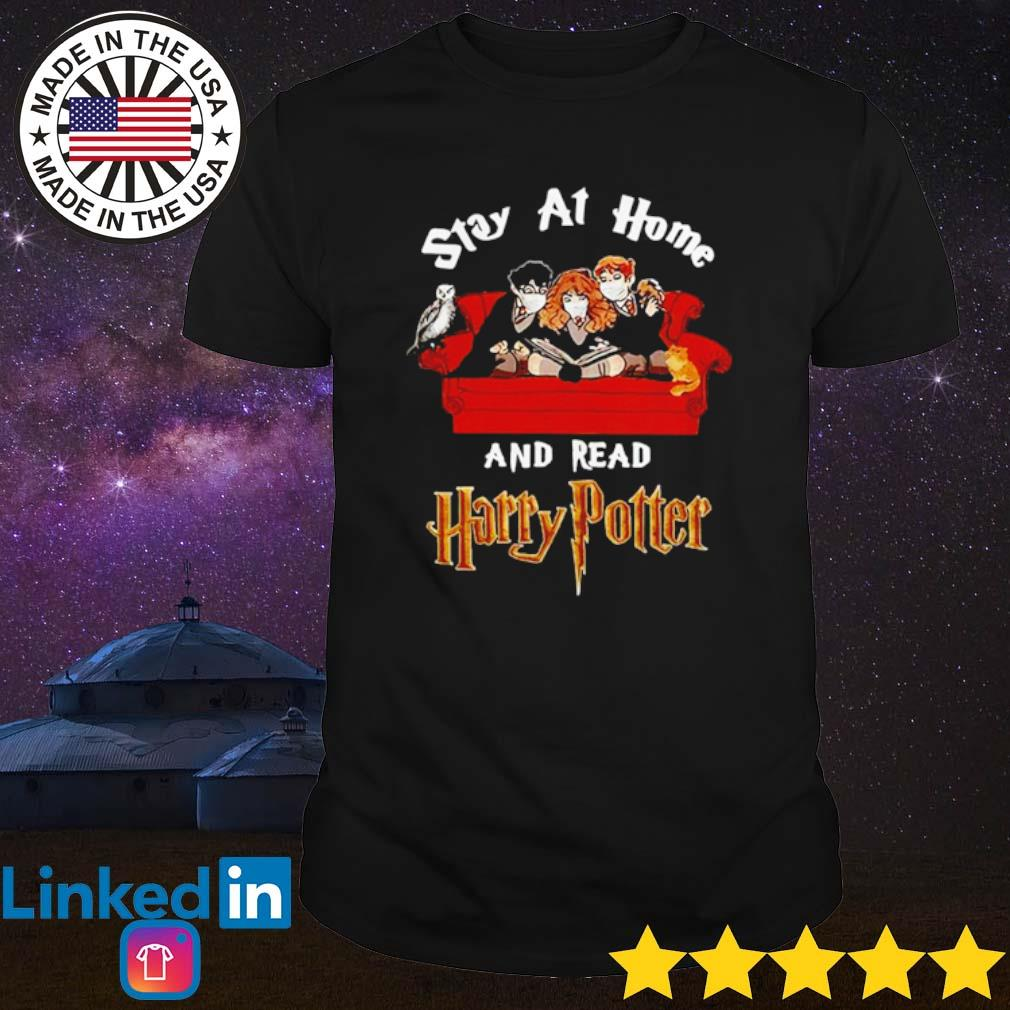 Stay at home and read Harry Potter Coronavirus shirt