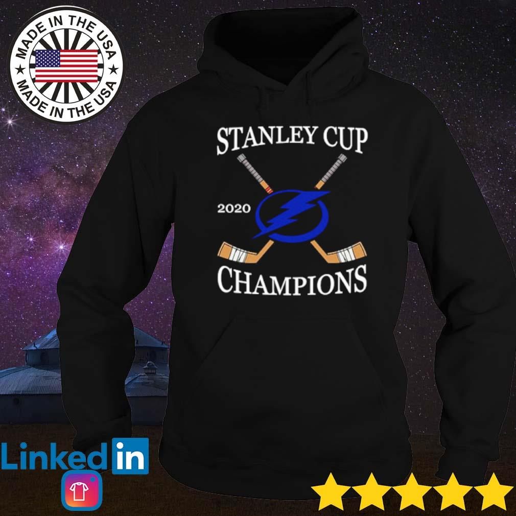 Tampa Bay Lightning stanley cup 2020 champions shirt_ Hoodie